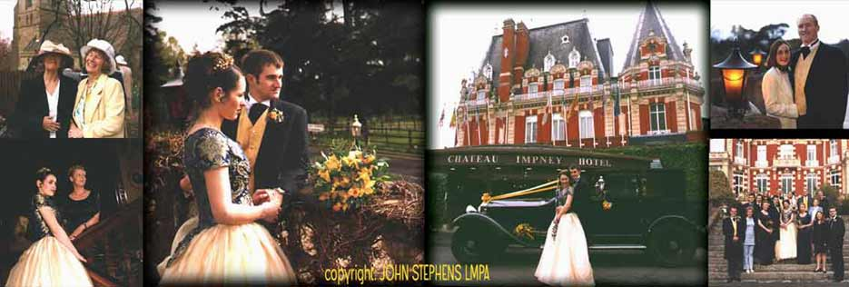 CHATEAU IMPNEY HOTEL DROITWICH SPA wedding photography & video & DVD