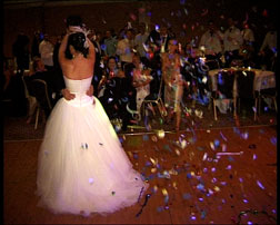 anthony and tracey wedding first dance at Hilton birmingham