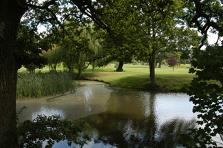 view of water from old side -  wedding photographers nailcote hall