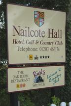 nailcote hall signage