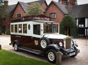 vintage bus -  wedding nailcote hall berkswell