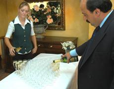 champagne - wedding photographers nailcote hall