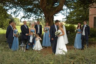 wedding party  wedding videographers nailcote hall