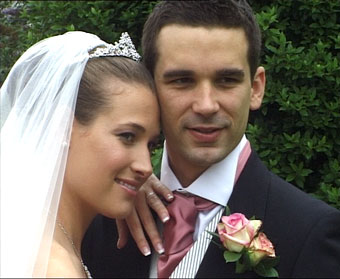 Welcombe Hotel Stratford upon Avon - sharron and mathew gardens,wedding video welcombe