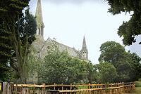 st leonards church, charlecote, stratford upon avon  wedding photography and wedding video dvd