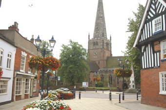 st alphege church solihull wedding photography and wedding video dvd