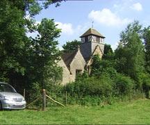 himbleton church, himbleton, worcestershire wedding photography and wedding video dvd
