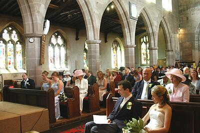 knowle parish church, knowle - wedding ceremony, wedding photography
