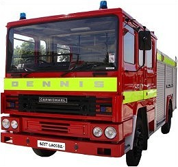 wedding fire engine for hire link