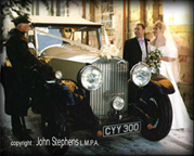 WEDDING CARS - regional coverage Warwickshire, West Midlands, Solihull, Worcestershire