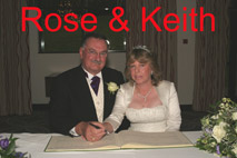 Stratford Manor Hotel Rose and Keith