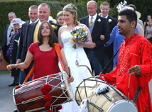 BANGRA RECEPTION PHOTOGRAPHY - HIGH res, ullenhall wedding video