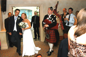 bagpipes by pipergram international - wedding photographers nailcote hall
